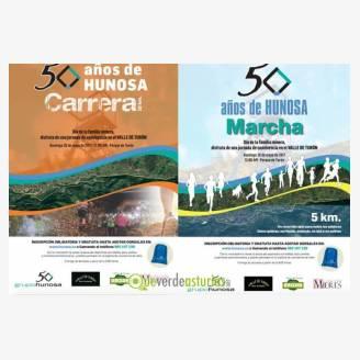 Carrera 50 años de Hunosa 2017