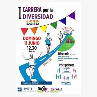 I Carrera por la Diversidad LGTB Oviedo 2017