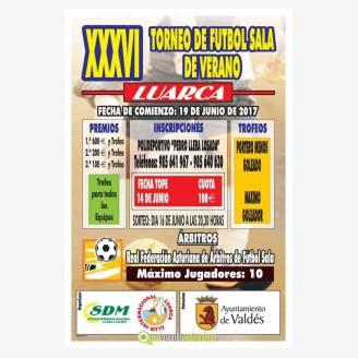 XXXVI Torneo de Fútbol Sala de Verano Luarca 2017