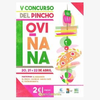 V Concurso de Pinchos de Oviñana 2018