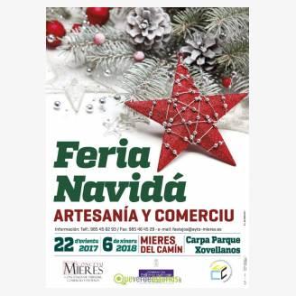 Feria de Navidad Artesanía y Comercio de Mieres 2017