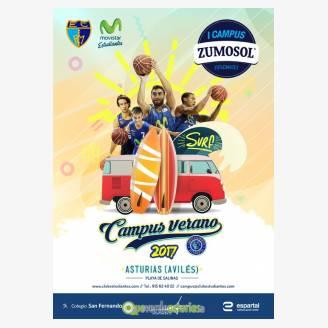I Campus Zumosol Estudiantes Baloncesto & Surf Avilés 2017