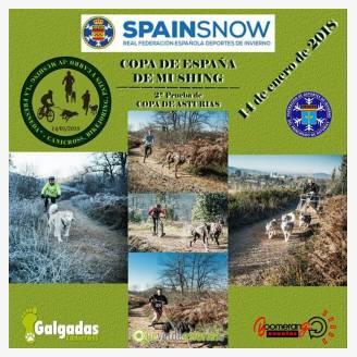 2ª Prueba de Copa de Asturias de Mushing 2018 en La Fresneda