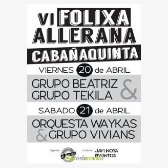 VI Folixa Allerana 2018 en Cabañaquinta