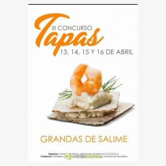 III Concurso de Tapas 2017 en Grandas de Salime
