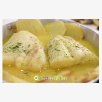 Jornadas verdeal en la chalana jornadas gastron micas en for Lomos de merluza en salsa verde