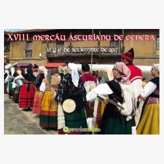XVIII Mercáu Asturianu de Cenera 2017