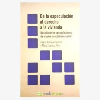 """Presentación del libro: """"De la especulación al derecho a la vivienda"""""""