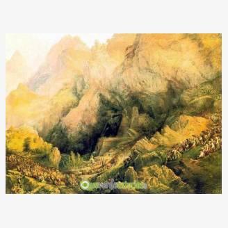 Procesión en Covadonga, C. 1850-1851 - Programa La Obra invitada