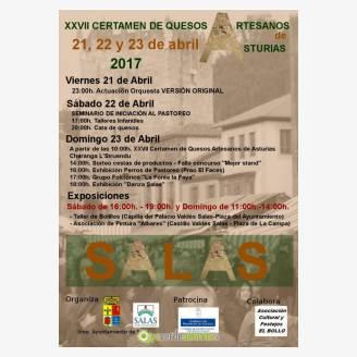 XXVII Certamen de Quesos Artesanos de Asturias - Salas 2017