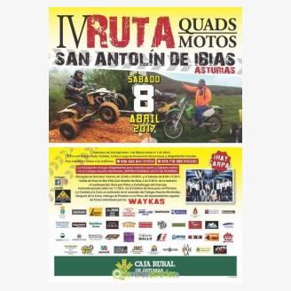 IV Ruta Quads Motos San Antolín de Ibias 2017