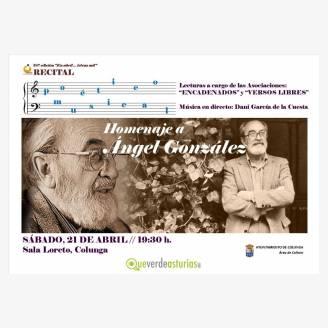 Recital poético-musical en homenaje a Ángel González