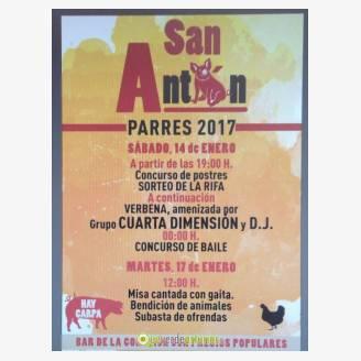 Fiestas de San Antón Parres 2017