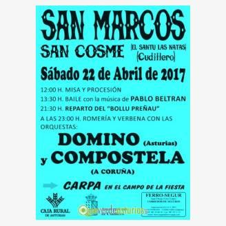 Fiestas de San Marcos y San Cosme - Cudillero 2017