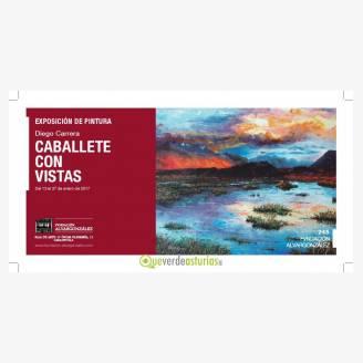 Exposición de pintura de Diego Carrera