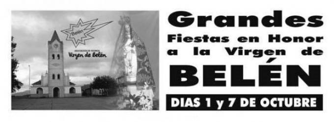 Fiestas en honor a la Virgen de Belén de la Montaña 2017