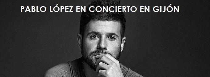 Pablo López en concierto en Gijón 2018