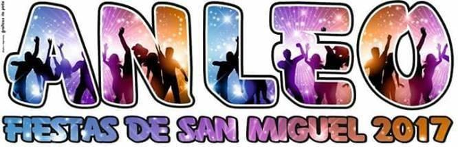 Fiestas de San Miguel Anleo 2017
